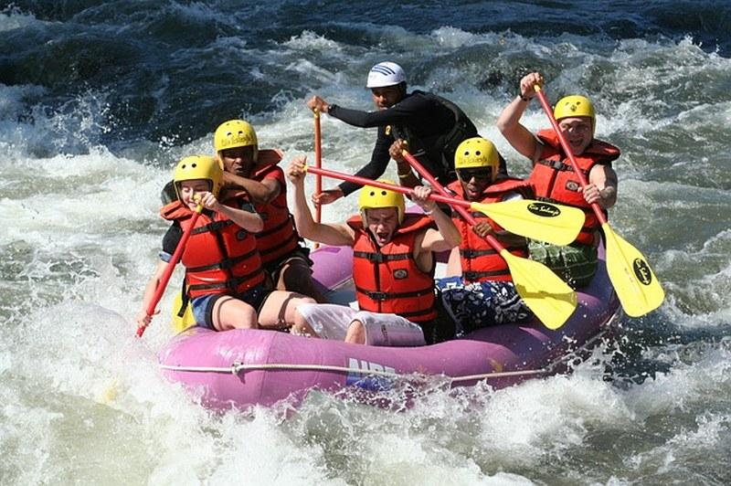 rafting in lombardia